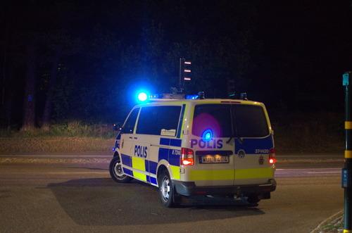 Väktare attackerad vid upplopp i Trollhättan Omni