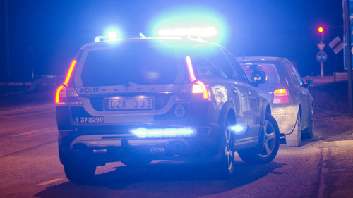 Kvinna stal polisbil