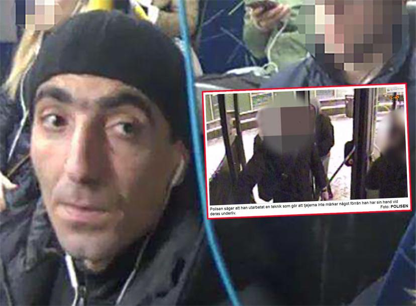 Bussman sexattackerar flickor – då maskerar Expressen hans ansikte