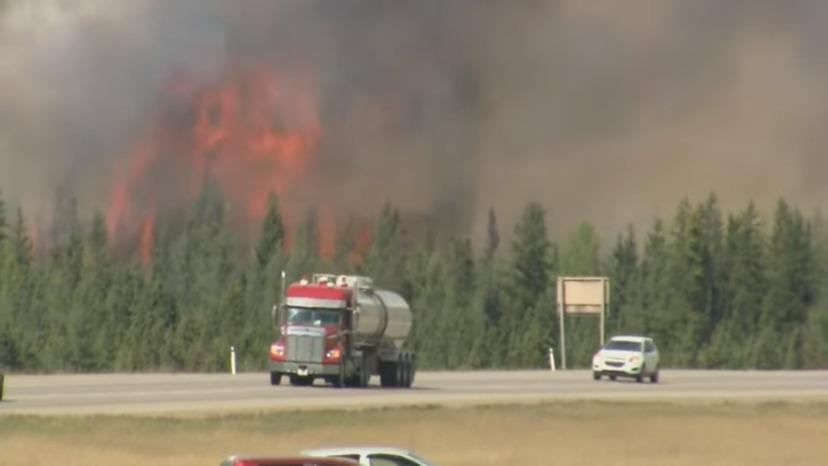 skogsbrand kanada