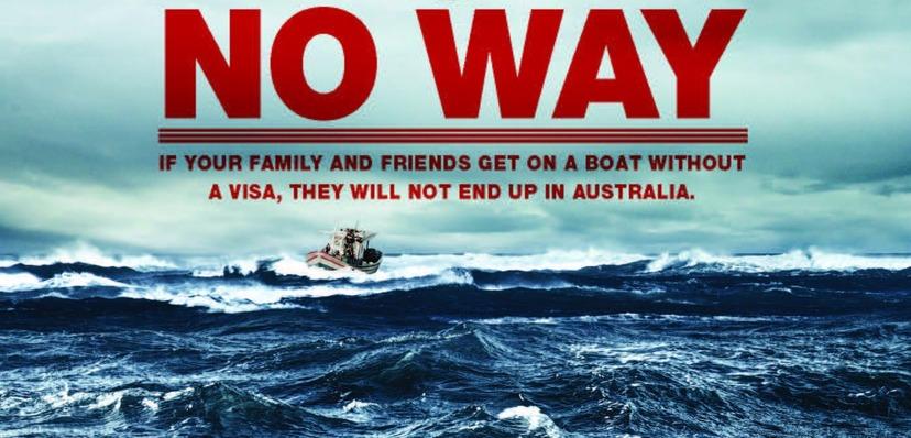 Australien stoppar asylsokare vid kusten