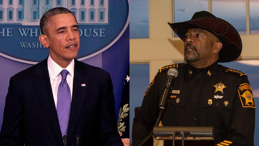Obama kritiserar upploppen och poliser
