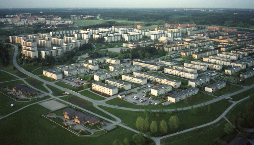 """Här byggs """"Sveriges första megagetto"""""""