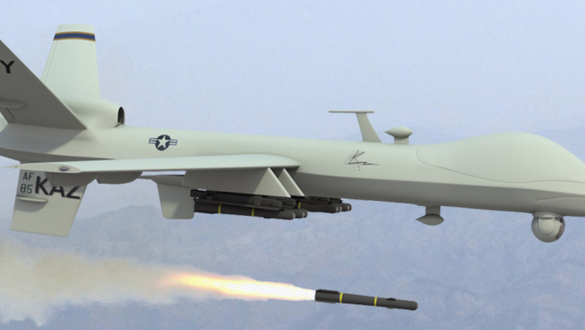Usa dronare kraschade i somalia